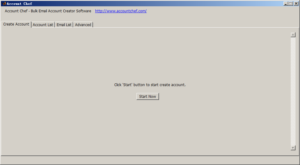 Unlimited Email Account Creator Software - Account Chef